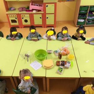 workshop de culinária - bolachinha de aveia